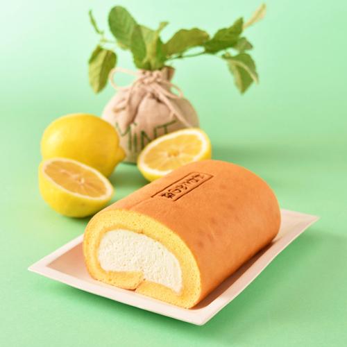 国産レモンの米粉ロール