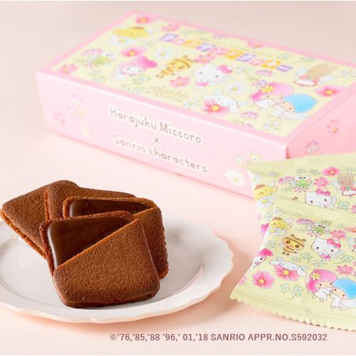 原宿みっころ&サンリオキャラクターズ チョコサンドクッキー