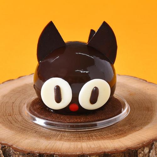黒猫のケーキ